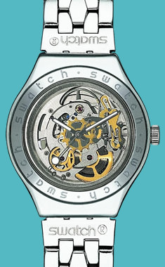 Swiss made Swatch automatic