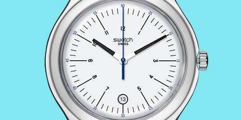 Swiss made Swatch Big classic