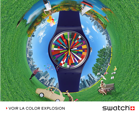 Photo de montre swiss made Swatch