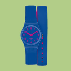 Swiss made Swatch lady