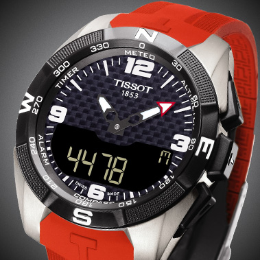 Swiss made Tissot touch