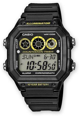 Montre Montre Homme Casio Collection AE-1300WH-1AVEF - Casio - Vue 0