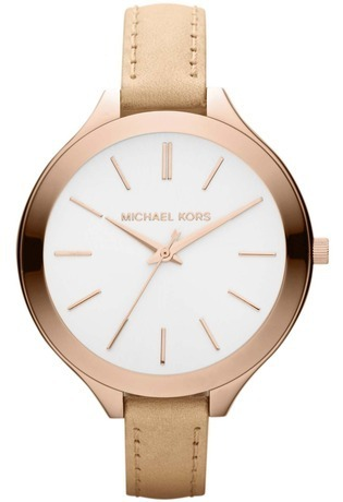 Montre Montre Femme Runway Slim Leather MK2284 - Michael Kors - Vue 0