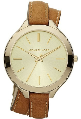 Montre Montre Femme Runway Slim Leather MK2256 - Michael Kors - Vue 0