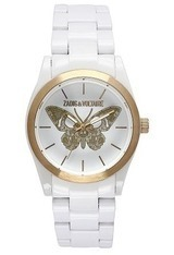 Montre New Art - Butterfly - White/Gold ZV 050/1BB - Zadig & Voltaire