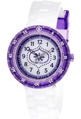 Montre Purple Summer Breeze FCSP011 - Flik Flak