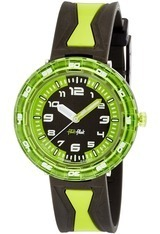 Montre Get it in green FCSP014 - Flik Flak