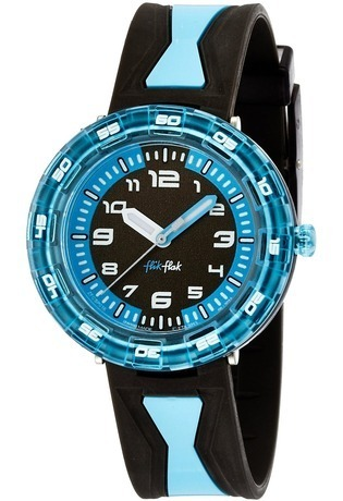 Montre Montre Garçon Get it in blue FCSP016 - Flik Flak - Vue 0
