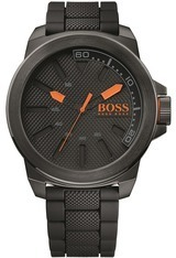 Montre Montre Homme New York Black silicone 1513004 - Boss Orange