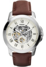 Montre Automatic cuir marron ME3052 - Fossil