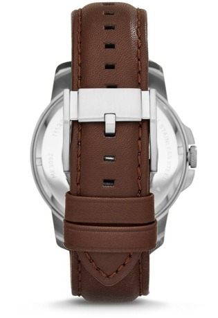 Montre Grant Automatic cuir marron ME3052 - Fossil