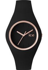 Montre ICE Glam - Black Rose Gold - Unisex 000980 - Ice-Watch