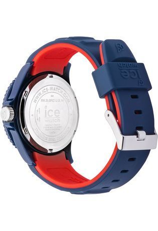 montre ice watch ice bmw motorsport dark blue red unisex 001128 bleu montres and co. Black Bedroom Furniture Sets. Home Design Ideas