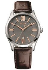 Montre Ambassador Round Brown 1513041 - Hugo Boss
