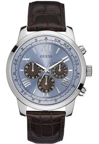 Montre Horizon Marron W0380G6 - Guess - Vue 0