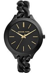 Montre Runway Slim Chain Black MK3317 - Michael Kors
