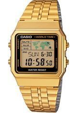 Montre Vintage World Time A500WEGA-1EF - Casio