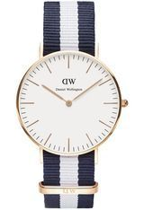 Montre Montre Femme Classic Glasgow 36 mm DW00100031 - Daniel Wellington
