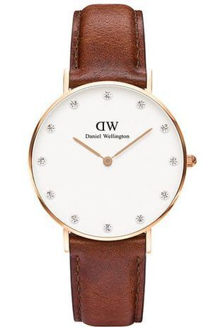 Montre Classy St Mawes Rose Gold 34 mm DW00100075 - Daniel Wellington - Vue 0