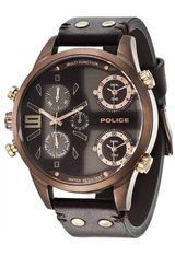 Montre Montre Homme Copperhead Brown PL.14374JSBN-12 - Police