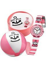 Montre Pink Stripes FTNP003 - Flik Flak