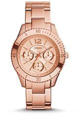 Montre Stella PVD or rose ES3815 - Fossil