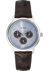 Montre Wafer Brown/Blue W0496G2 - Guess