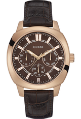 Montre Prime Brown/Gold W0660G1 - Guess