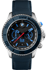 Montre Ice-BMW Motorsport Steel Chrono - Dark & Light Blue - Big  001121 - Ice-Watch