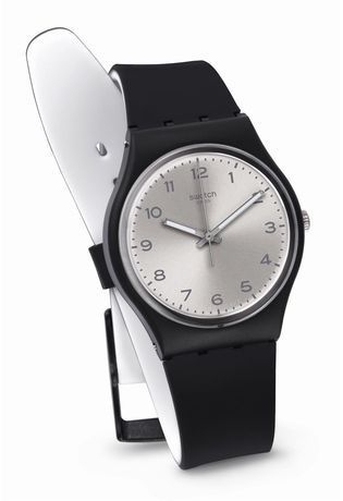 Montre Montre Femme, Homme Silver Friend Too GB287 - Swatch