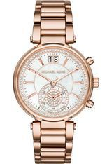 Montre Montre Femme Sawyer PVD or rose MK6282 - Michael Kors
