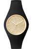 Montre ICE-Glitter - Black/Gold - Unisex 001355 - Ice-Watch