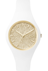 Montre ICE-Glitter - White/Gold - Small 001345 - Ice-Watch