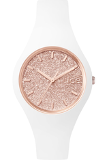 Montre ICE-Glitter - White/Rose Gold - Small ICE.GT.WRG.S.S.15 - Ice-Watch