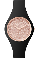 Montre ICE-Glitter - Black/Rose Gold - Small ICE.GT.BRG.S.S.15 - Ice-Watch