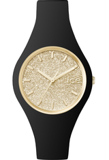 Montre ICE-Glitter - Black/Gold - Small 001348 - Ice-Watch