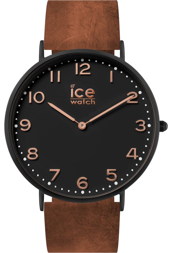 montre ice city leyton 41mm 001359 ice watch noir montres co. Black Bedroom Furniture Sets. Home Design Ideas