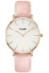 Montre La Bohème Rose Gold White/Pink CL18014 - Cluse