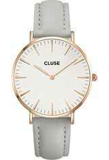 Montre Montre Femme La Bohème Rose Gold White/Grey CL18015 - Cluse