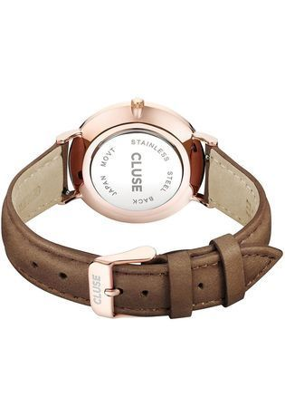 Montre Montre Femme La Bohème Rose Gold White/Brown CL18010 - Cluse - Vue 1