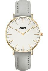 Montre La Bohème Gold White/Grey CL18414 - Cluse