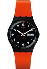 Montre Montre Femme, Homme Red Grin GB754 - Swatch