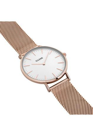 Montre La Bohème Mesh Rose Gold/White CL18112 - Cluse