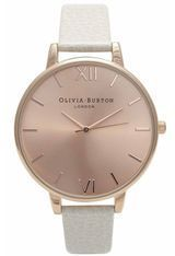 Montre Big Dial - Mink and Rose Gold OB13BD11 - Olivia Burton