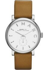 Montre Baker - Cuir Marron & Steel - 36 mm MBM1265 - Marc Jacobs