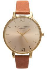 Montre Big Dial - Tan and Gold OB13BD09 - Olivia Burton