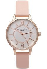 Montre Wonderland - Dusty Pink and Rose Gold OB15WD28 - Olivia Burton
