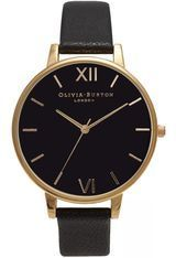 Montre Big Dial - Black Dial and Gold OB15BD55 - Olivia Burton