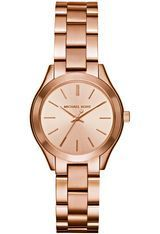 Montre Slim Runway - Doré rose MK3513 - Michael Kors