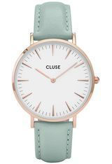 Montre La Bohème - Rose Gold White/Pastel Mint  CL18021 - Cluse